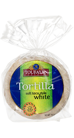 Toufayan Bakeries Tortilla Soft Taco Style White