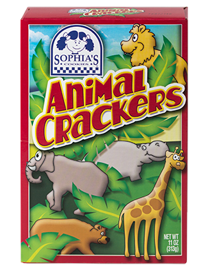 Sophias Animal Crackers