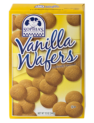 Sophias Vanilla Wafers