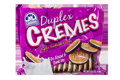 Sophias Duplex Cremes Sandwich Cookies