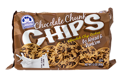 Sophias Chocolate Chunk Chips Cookies