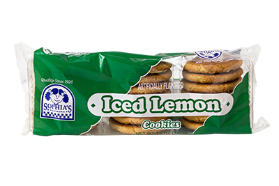 Sophias Iced Lemon Cookies