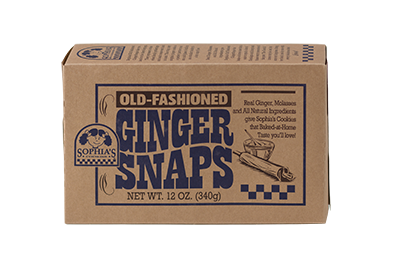 Sophias Old-Fashioned Ginger Snaps