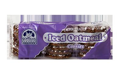 Sophias Iced Oatmeal Cookies