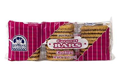 Sophias Coconut Bars Cookies