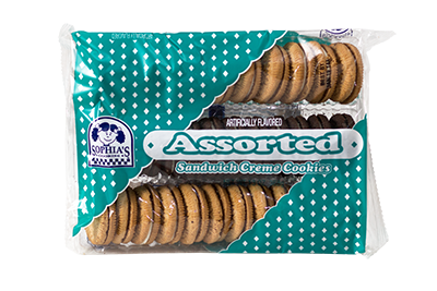 Sophias Assorted Sandwich Creme Cookies