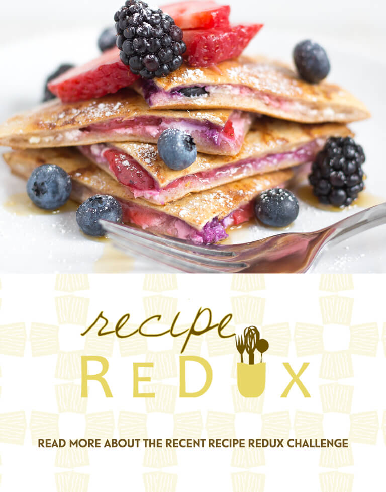 Read More about the recent Recipe Redux Challenge
