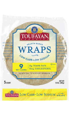 Toufayan Hearth Baked Low Carb-Low Sodium Wraps