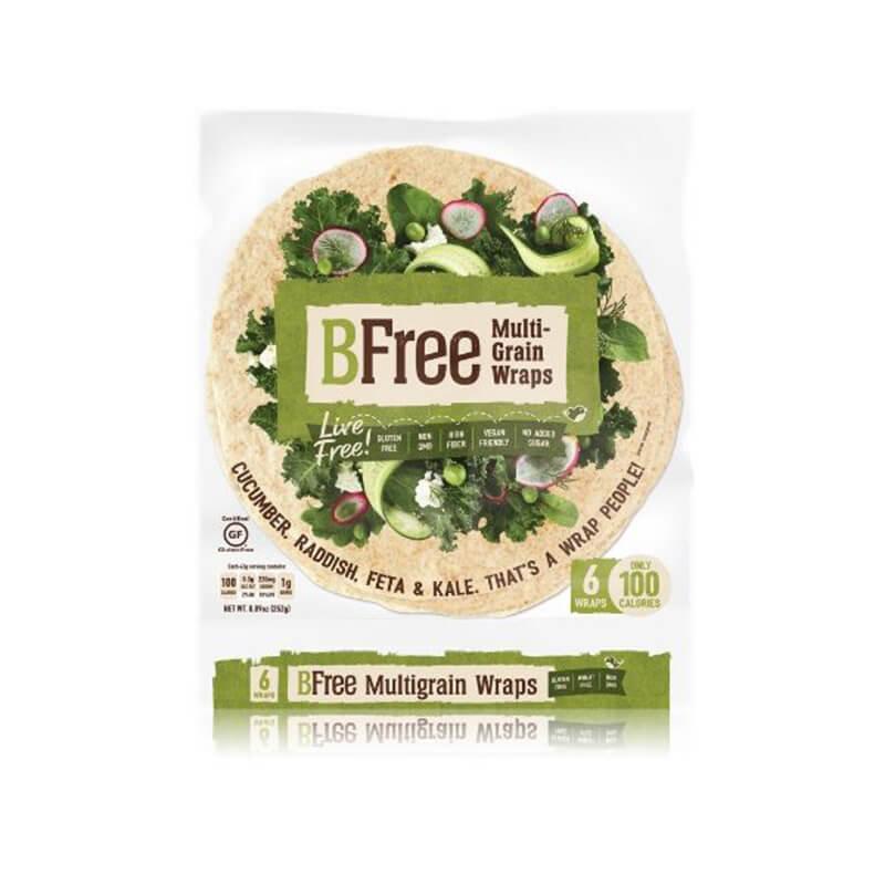 BFree Multigrain Wraps Gluten Free